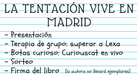 La tentación vive en Madrid